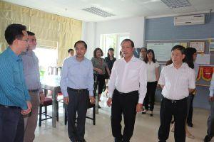 Thứ trưởng Cao Quốc Hưng đến thăm và làm việc với Viện KH&CN Mỏ - Luyện kim