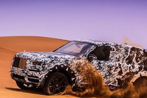 Sự kiện ra mắt SUV siêu sang Rolls-Royce Cullinan