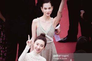 Thảm đỏ Cannes: Câu giờ 6 phút thì đã là gì, 'bạn gái tin đồn'của Lâm Canh Tân và G-Dragon đã lập kỷ lục mới