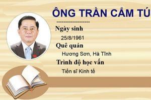 Chân dung ông Trần Cẩm Tú - Chủ nhiệm Ủy ban Kiểm tra Trung ương