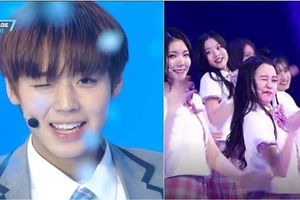 Dân mạng Hàn Quốc cười chê vì thí sinh Produce 48 thi nhau nháy mắt