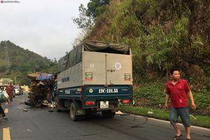 Xe đâm liên hoàn tại dốc Cun, 1 người chết tại chỗ, 3 người bị thương