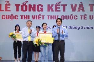 Hóa thân thành bức thư cách đây 120 năm, cô gái lớp 8 tại Hải Dương đoạt giải Nhất Cuộc thi viết thư UPU