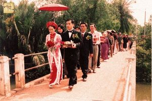 Tái hiện không gian đám cưới xưa qua 'Chuyện cưới - kể mãi chuyện trăm năm'