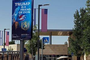 Hôm nay diễn ra lễ khánh thành ĐSQ Mỹ tại Jerusalem