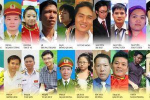 Công bố danh sách 10 Gương mặt trẻ Việt Nam tiêu biểu năm 2017
