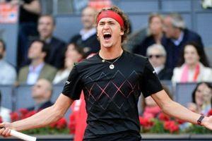 Vô địch Madrid Open, Zverev sánh ngang Big Four