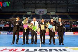 Giải futsal HDBank VĐQG 2018: Futsal Việt Nam khai hội trong hân hoan