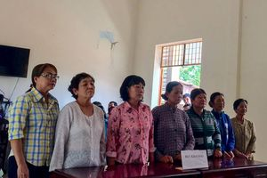 7 phụ nữ chặn xe chở cát ở Tây Ninh cùng nhận án tù treo