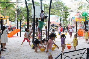 Công trình 'Sân chơi tặng bạn' sẵn sàng phục vụ trẻ em huyện Nhà Bè