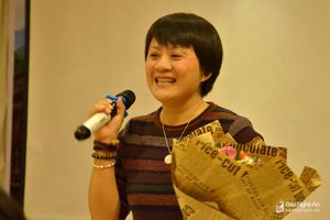 Tác giả Hồ Thị Ngọc Hoài: 'Biết ơn đau khổ để mến yêu cuộc đời'