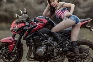 Kawasaki Z900 mê hoặc người đẹp Việt