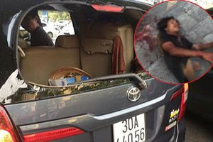 Vụ tài xế bất ngờ bị đập vào đầu, ném vỡ kính ô tô: Đối tượng bị tâm thần nặng