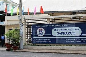 Sapharco bán thuốc giá cao hơn giá niêm yết