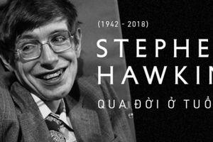Ba lời khuyên quý giá của Stephen Hawking dành cho các con