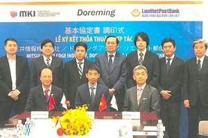 LienVietPostBank ký kết với đối tác Nhật Bản để thanh toán tiền lương