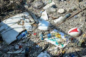 Hàng loạt mương thoát nước Hà Nội ùn tắc vì rác thải