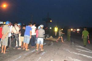 Tai nạn giữa xe tải và xe máy, 1 người tử vong tại chỗ