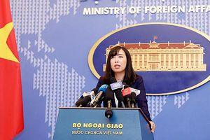 Việt Nam khẳng định chủ quyền không tranh cãi với 2 quần đảo Hoàng Sa và Trường Sa