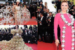 Loạt trang phục gây sốc nhất trên thảm đỏ Cannes