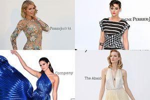 Sao Hollywood xúng xính váy áo đọ sắc tại tiệc tối Cannes 2018