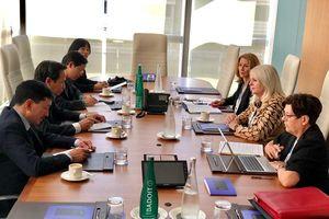 Kết quả cuộc gặp song phương giữa Bộ trưởng Đào Ngọc Dung và Bộ trưởng GD&ĐT Úc Karen Andrews
