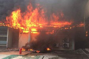 Cháy tại bệnh viện công lớn nhất Malaysia