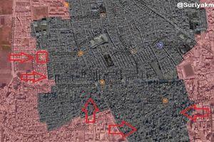 Tên lửa càn quét, quân đội Syria dồn diệt IS trong tử địa nam Damascus