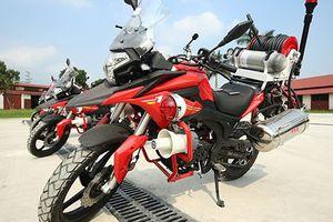 'Soi' môtô chữa cháy Trung Quốc giá gần 300 triệu tại Việt Nam