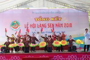 Nghệ An: Đưa các hoạt động Lễ hội Làng Sen về quê hương Bác Hồ
