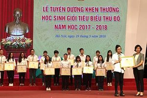 Hà Nội luôn dẫn đầu về số lượng học sinh giỏi quốc gia, quốc tế