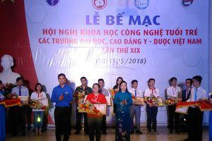 Vinh danh 103 nhà khoa học trẻ thuộc các trường ĐH, CĐ Y-Dược Việt Nam