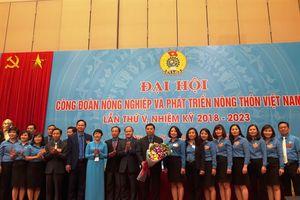 Ông Vũ Xuân Thủy tái cử Chủ tịch Công đoàn NN-PTNT Việt Nam khóa 5