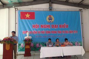 Hội nghị Người lao động Công ty TNHH May xuất khẩu Đại Nghĩa