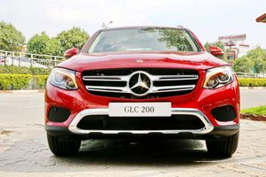 Chi tiết Mercedes-Benz GLC 200 vừa ra mắt tại Việt Nam