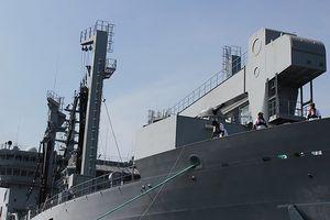 3 tàu Hải quân của Ấn Độ thăm thành phố Đà Nẵng