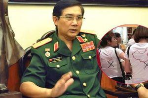 Tướng Lê Mã Lương: Du khách mặc áo in 'đường lưỡi bò' nằm trong chiến lược bài bản của Trung Quốc