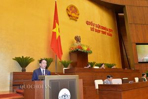 Quốc hội thảo luận về dự án Luật Quốc phòng (sửa đổi)