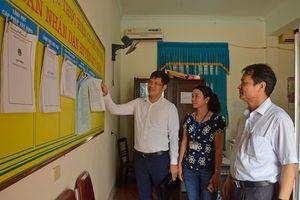 Chấn chỉnh hạn chế tại bộ phận một cửa ở các huyện Quỳ Châu, Quế Phong