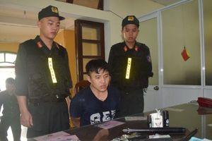 Huế: Bắt nam thanh niên tàng trữ ma túy, mang theo súng phòng thân