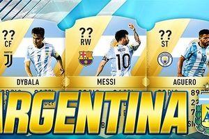 Đội hình 4-2-4 đầy biến ảo của ĐT Argentina trong FIFA 18