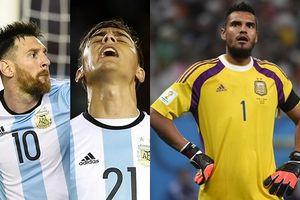 Cập nhật danh sách 23 cầu thủ Argentina dự World Cup: Sao MU lỡ hẹn