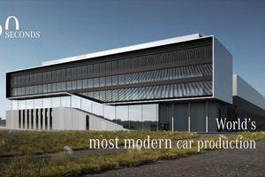 Hình ảnh đầu tiên của nhà máy Mercedes hiện đại nhất thế giới