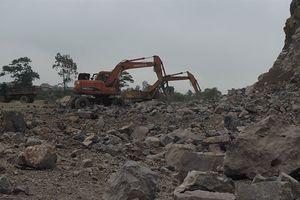 Đưa khu vực khai thác đá ra khỏi khu vực bảo vệ di tích núi Sậu