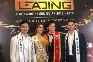 3 Nam vương thế giới và Hoa hậu Trái đất hội ngộ tại TP.HCM