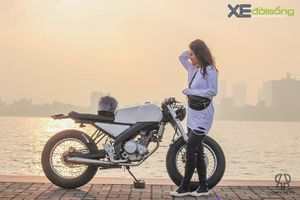 Ngắm Yamaha FZ150i độ Brat Cafe cực chất ở Hà Nội
