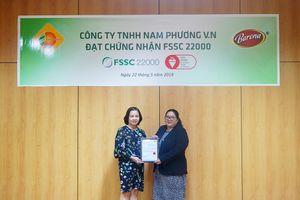 Công ty Nam Phương vinh dự đạt chứng nhận FSSC 22000