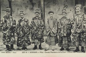 Ảnh chân dung hiếm có của các vị đại quan nhà Nguyễn