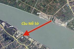 Hà Nội đầu tư gần 4.900 tỷ đồng xây cầu Mễ Sở vượt sông Hồng