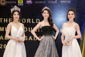 Dàn Hoa hậu, Á hậu rạng rỡ trở về từ đấu trường sắc đẹp quốc tế